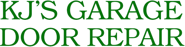 KJ's Garage Door Repair Logo