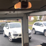 LiftMaster 8550W Installed