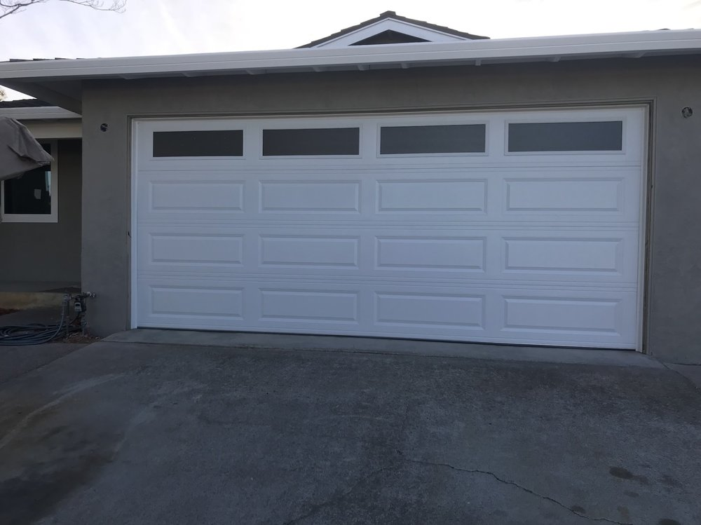 New San Jose Garage Door Install